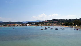 Sidari beach on Corfu Royalty Free Stock Images