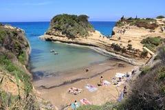 Sidari, Corfu Royalty Free Stock Photos