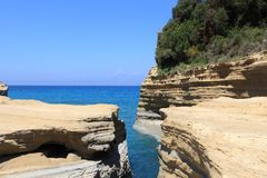 Sidari, Corfu Royalty Free Stock Photo