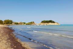 Sidari en Corfú, Grecia Imágenes de archivo libres de regalías