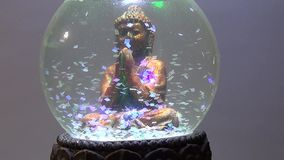 Siddhártha Gautama Buddha - figure stock video footage