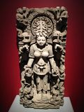 Siddha, Hindu goddess statue Royalty Free Stock Photo