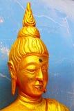 Siddharta в дворцах wat виска голубых Стоковое Изображение