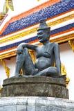 siddharta i det tempelbangkok leendet arkivbilder