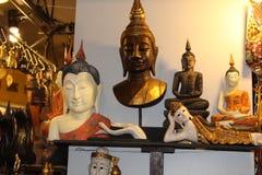 Siddhartha Gautam statuy zdjęcie royalty free