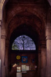 Siddi Sayed Mosque stock photo