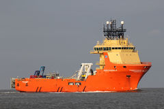 SIDDIS MARINER on the river Elbe Stock Image