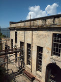 Side of Alcatraz power house Stock Image