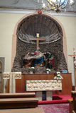 Side altar in the church in Konice Royalty Free Stock Images