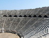 The Side Amphitheatre, Side Stock Image
