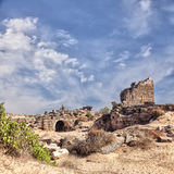 Side ancient archaeological remains Royalty Free Stock Photography