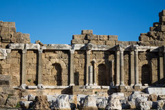 Side ancient city ruins Stock Photo