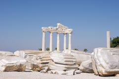 Side - Apollo Temple. Ancient Side - Apollo Temple, Turkey Stock Photography