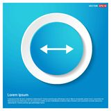2 side arrow Icon. This Vector EPS 10 illustration is best for print media, web design, application design user interface and infographics with well composed vector illustration