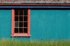 Side of the barn Stock Photos