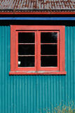 Side of the barn Royalty Free Stock Photography