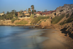 Side Beach Royalty Free Stock Photo