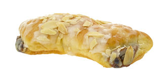 Side of bear claw pastry Royalty Free Stock Photos