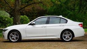Side of BMW auto