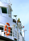 Side of a boat Royalty Free Stock Images