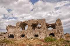 Side Byzantine Hospital Ruins Stock Images