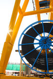 Side cable reel Stock Image