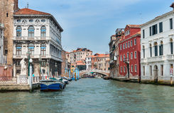 Side Canal in Venice Royalty Free Stock Images