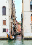 Side Canal in Venice Royalty Free Stock Photos