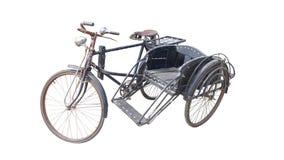 Side-car velho da bicicleta foto de stock