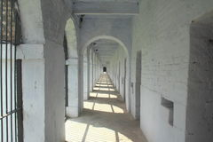 In Side Of Cellular jail. Royalty Free Stock Photography
