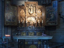 Side chapel to Our Lady of Thuyne, St Martin's Cathedral, Ypre Royalty Free Stock Photo