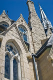Side of church in Guelph Ontario Royalty Free Stock Image