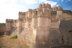 Side of coca castle Stock Photography