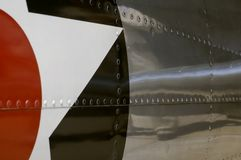 Side Detail of BT-13 Valiant Royalty Free Stock Photo