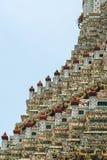 Side detail of Wat Arun Royalty Free Stock Photo
