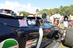 Side details  Bentley racer Stock Images