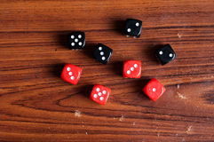 6 side dice Stock Image