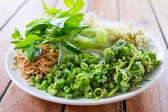Side dish Royalty Free Stock Images
