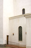 Side Door. A small side door to St. Augustine Cathedral in Tuscon, AZ. One of the oldest churches in America, and still in operation Royalty Free Stock Photography