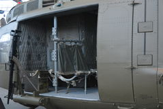 Side Door of Army Helicopter Stock Photo