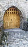 Side door of the Castle of Malahide royalty free stock images