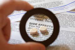 Side Effects Stock Photography