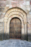 Side entrance Stock Photo