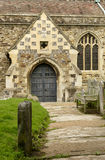 Side entrance of All Saints Parish, Hastings Royalty Free Stock Images