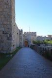Side Entrance of Jaffa Gate in Jerusalem Royalty Free Stock Photos