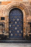Side Entrance to Prague Saint Vitus Cathedral Royalty Free Stock Images