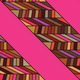 Side fabric dress seamless pattern Royalty Free Stock Photography