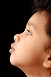 Side face profile. Of an Indian Kid Royalty Free Stock Photos