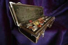 Side flute velvet Royalty Free Stock Photos