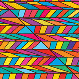 Side full colorful seamless pattern. This illustration is drawing side lines with colorful full page and seamless pattern stock illustration